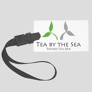 Tea by the Sea Large Luggage Tag
