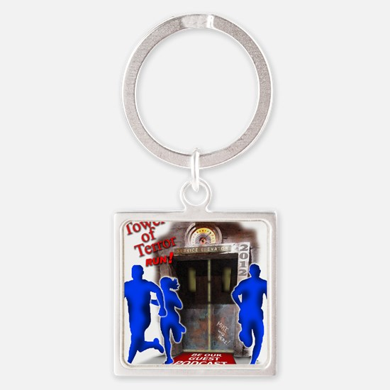Tower of Terror Weekend Logo Square Keychain