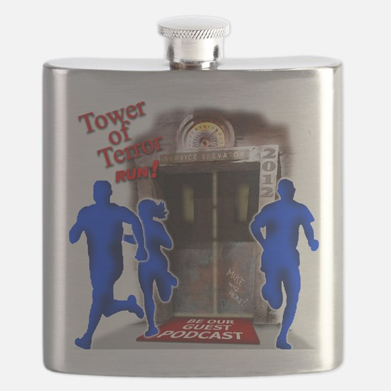 Tower of Terror Weekend Logo Flask