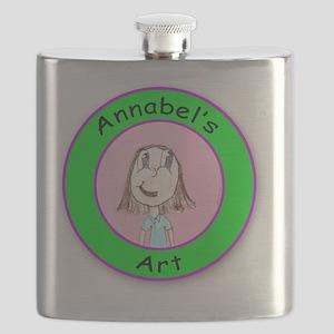 Annabels Art Logo Flask