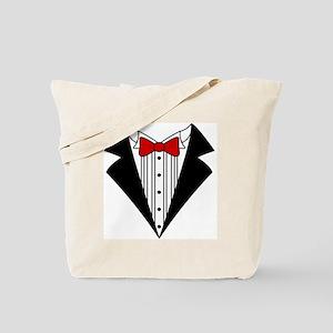 Tuxedo Tote Bag