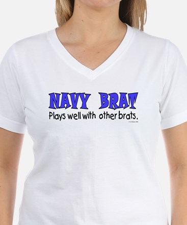 Navy Brat - Plays well with.. Shirt