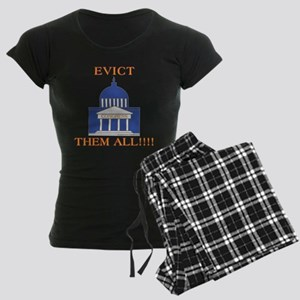 Congress pink slips Women's Dark Pajamas