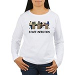 Staff Infection Women's Long Sleeve T-Shirt