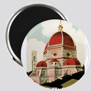 Vintage Firenze Italy Church Duo Magnets