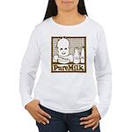 Vintage Pure Milk Women's Long Sleeve T-Shirt