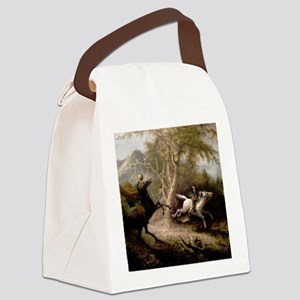 Sleepy Hollow Headless Horseman Canvas Lunch Bag