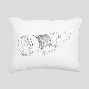 Size Matters Rectangular Canvas Pillow