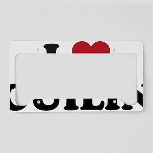 I Love Guilin License Plate Holder