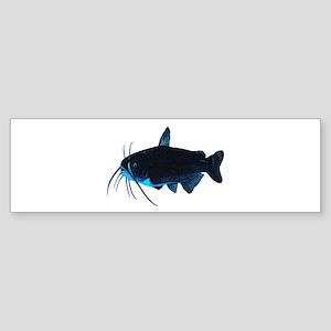CAT BLUE Bumper Sticker