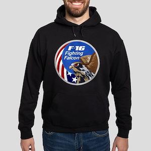 F-16 Falcon Hoodie (dark)