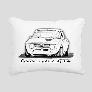 Alfa Romeo Giulia Sprint Rectangular Canvas Pillow