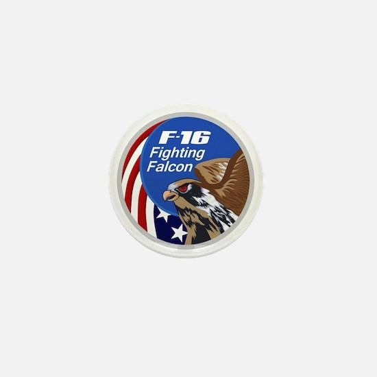 F-16 Falcon Mini Button