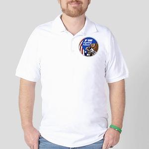 F-16 Falcon Golf Shirt