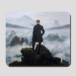 Caspar David Friedrich Wanderer Mousepad