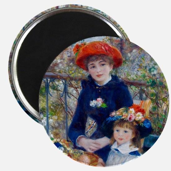 Pierre-Auguste Renoir Two Sisters Magnet