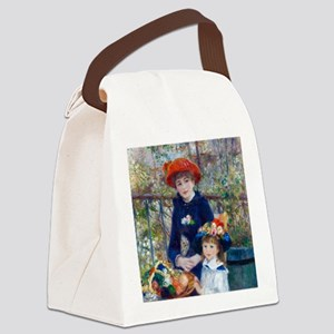 Pierre-Auguste Renoir Two Sisters Canvas Lunch Bag