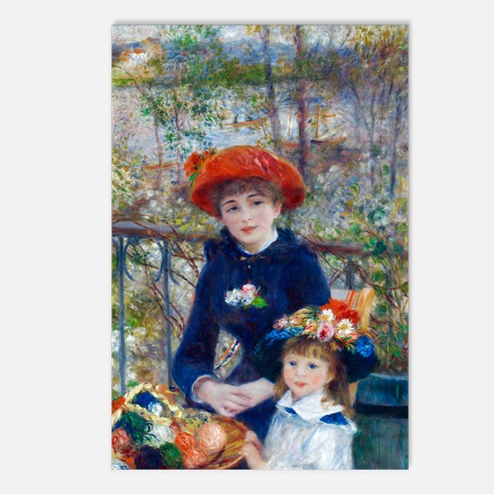 Pierre-Auguste Renoir Two Postcards (Package of 8)