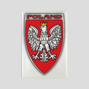 Poland Tarcza Rectangle Magnet