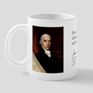 James Madison - Freedom Mug