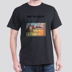 Fort McClellan with Text Dark T-Shirt
