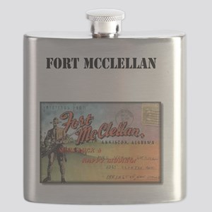 Fort McClellan with Text Flask
