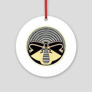 MIMBRES HONEY BOWL DESIGN Ornament (Round)