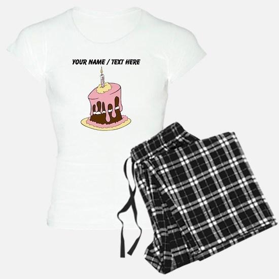Custom Birthday Cake Pajamas
