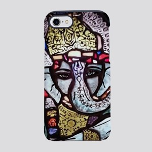 Stained Glass Ganesha iPhone 7 Tough Case