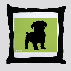 Schnoodle iPet Throw Pillow