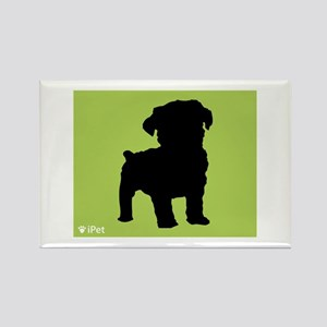 Schnoodle iPet Rectangle Magnet