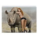 Bikini Babes And Beasties Wall Calendar