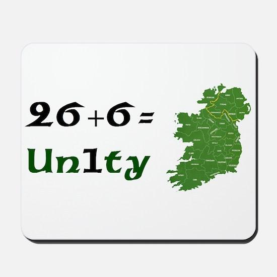 Irish Unity Mousepad