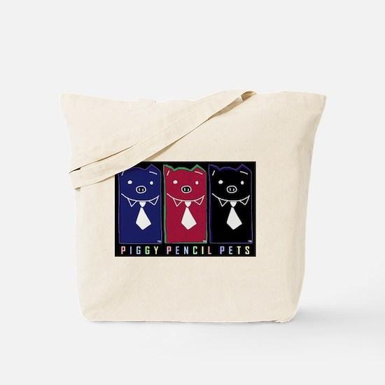 Go-Green Piggy Tote Bag