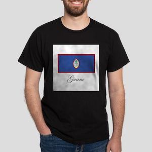 Guam - Flag Dark T-Shirt