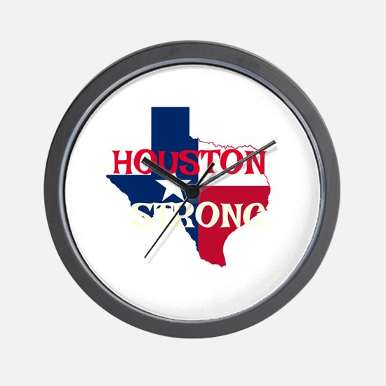 Cute Houston texas Wall Clock