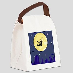 00874_Halloween Canvas Lunch Bag