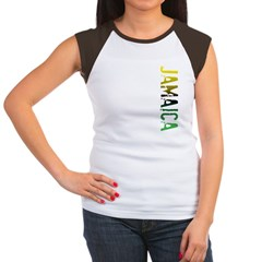 Jamaica Women's Cap Sleeve T-Shirt