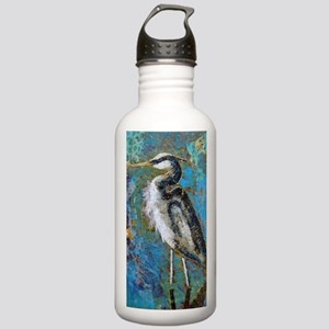 Blue On Blue Journal Stainless Water Bottle 1.0L