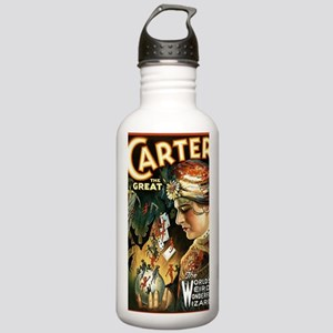 Vintage Magician Carte Stainless Water Bottle 1.0L