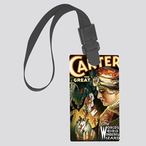 Vintage Magician Carter Large Luggage Tag