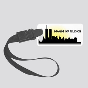 no religion Small Luggage Tag
