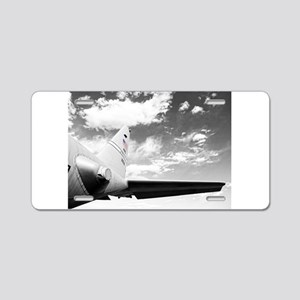 C130 Flying High Aluminum License Plate