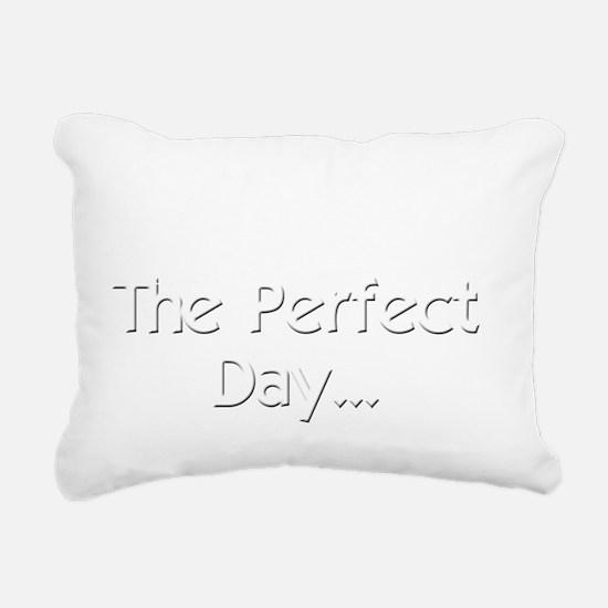 Perfect Day Ukulele Rectangular Canvas Pillow