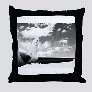 C130 Flying High Throw Pillow