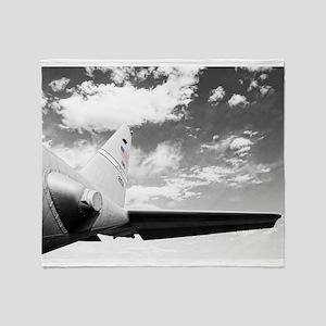 C130 Flying High Throw Blanket