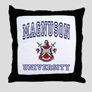 MAGNUSON University Throw Pillow