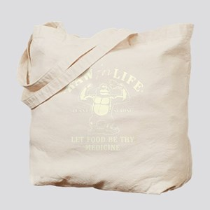 Vintage Raw for Life Tote Bag