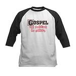 Gospel Solution Kids Baseball Jersey