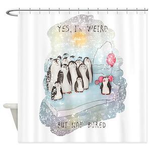 Weird Shower Curtains